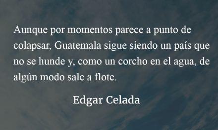 Un corcho en la turbulencia. Edgar Celada.