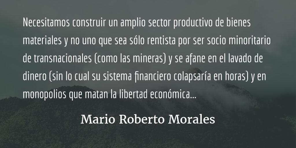 Sobre converger y forjar alianzas. Mario Roberto Morales.