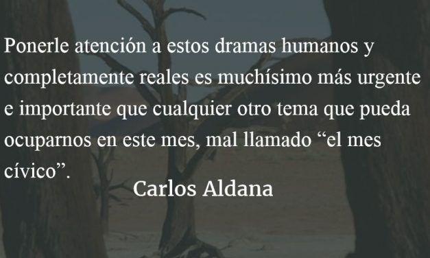 La geografía de los pobres. Carlos Aldana.