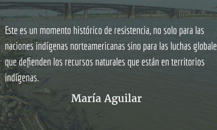 Tiempos de resistencia. María Aguilar.