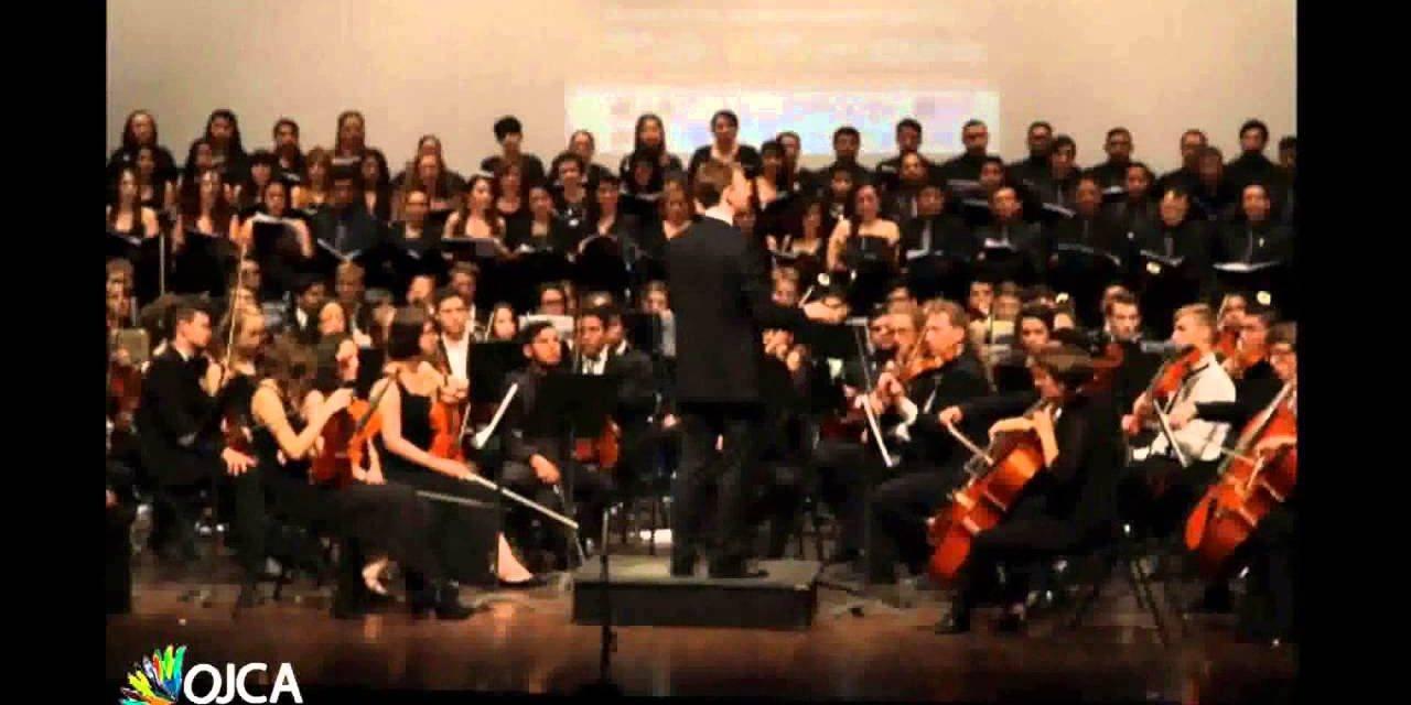 Orquesta Juvenil Centroamericana y del Caribe en el Teatro Nacional Rubén Darío