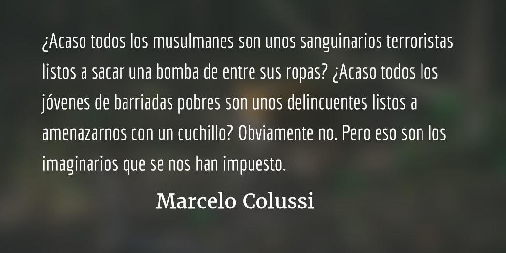 La sociedad del miedo. Marcelo Colussi.