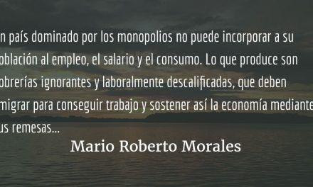 Empresarios, clase media, campesinos.  Mario Roberto Morales.