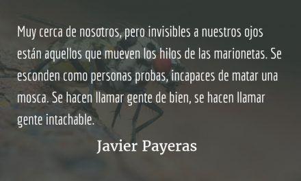 El punto ciego. Javier Payeras.