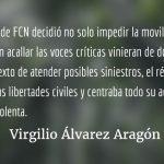El acuerdo mordaza. Virgilio Álvarez Aragón.