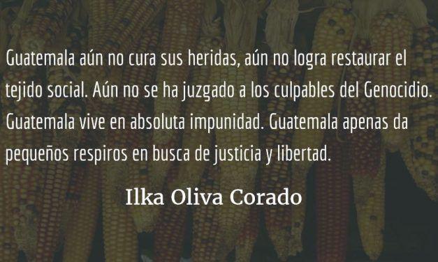 Jimmy Morales, remedo de dictador. Ilka Oliva Corado.