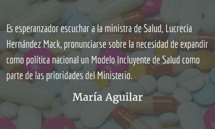 Salud incluyente. María Aguilar.