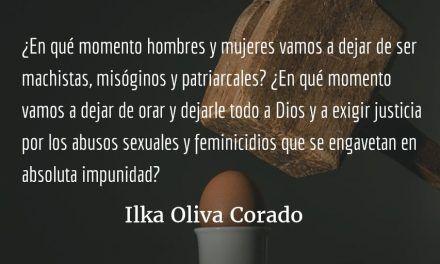 Latinoamérica, tierra de feminicidas. Ilka Oliva Corado.