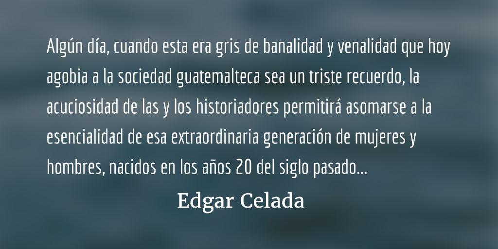Luto profundo: Alfredo Guerra Borges. Edgar Celada Q.