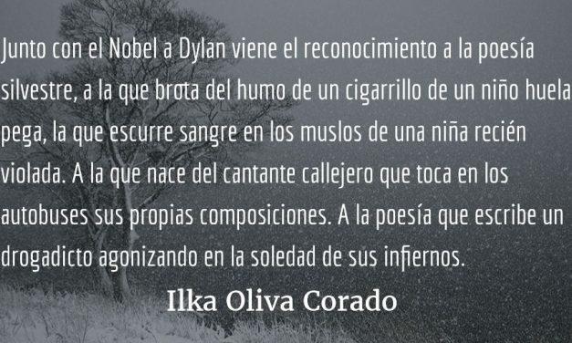 El efecto Bob Dylan. Ilka Oliva Corado.