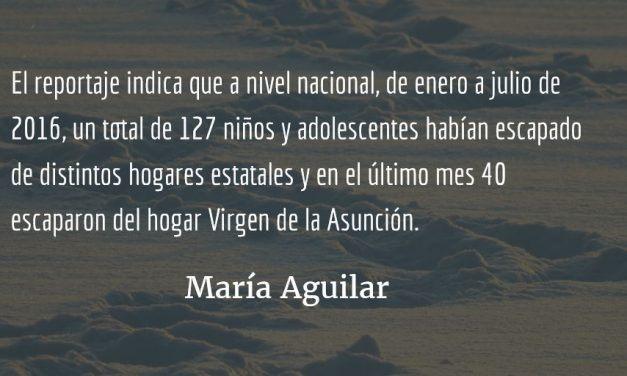 Niñez violentada. María Aguilar.