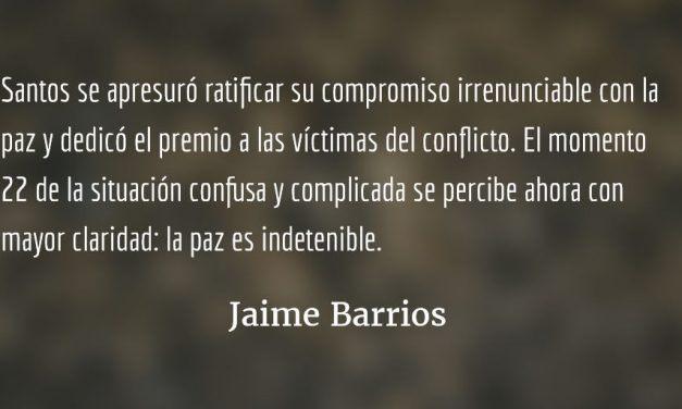 No al no en Colombia. Jaime Barrios.