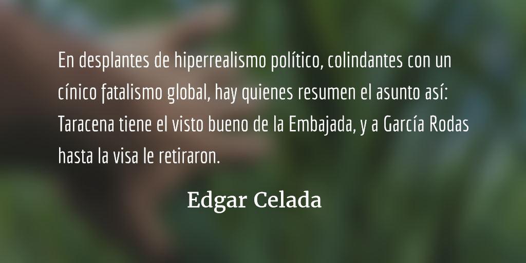 El Congreso y la ley de Herodes. Edgar Celada Q.