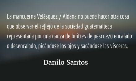 Guerra avisada. Danilo Santos.