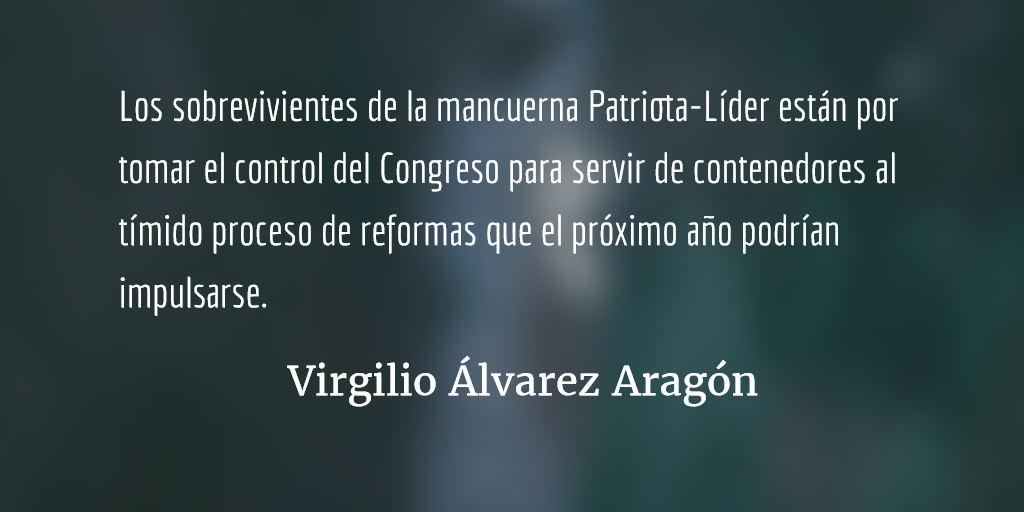 Sacando las uñas. Virgilio Álvarez Aragón.