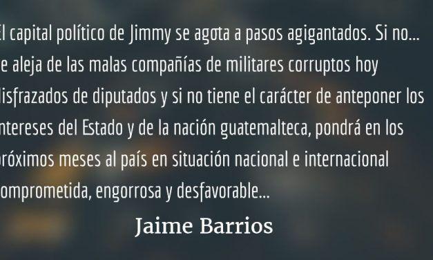 ¿Adónde va Guatemala? Jaime Barrios