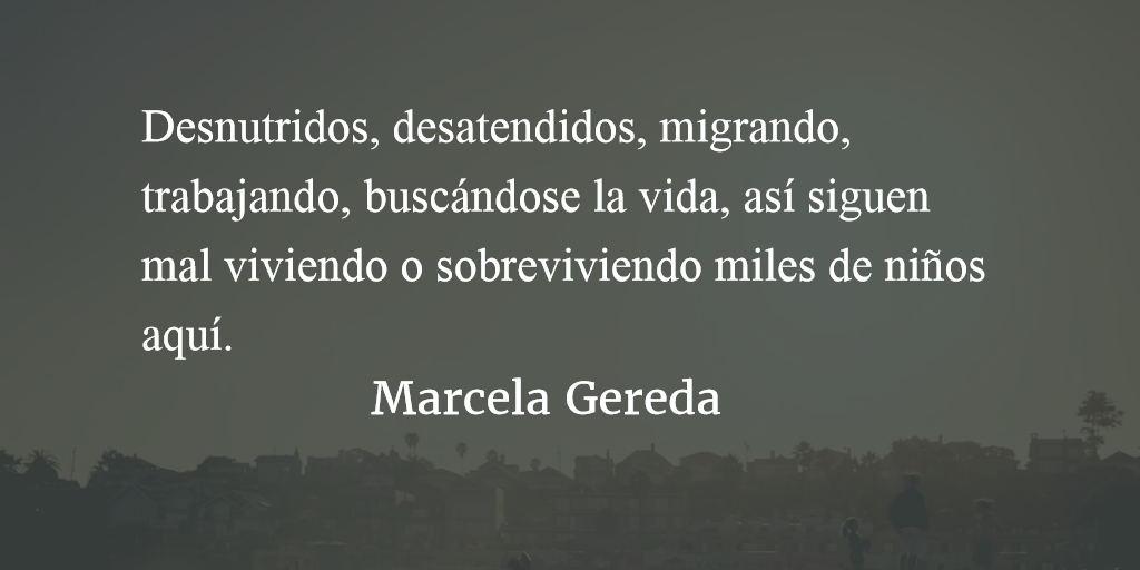 Niñez en la boca del lobo. Marcela Gereda.