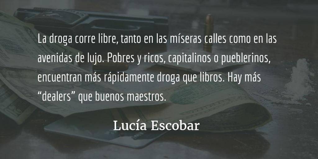 No, no, no. Sí, sí, sí. Lucía Escobar.