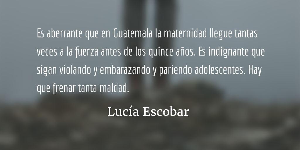 Criar. Lucía Escobar.