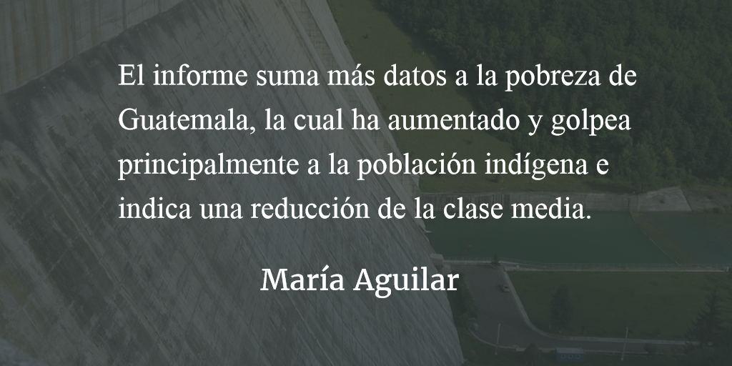 Conflicto y desarrollo. María Aguilar.