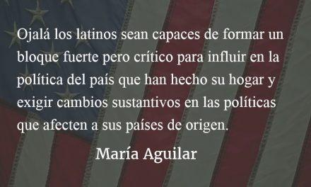 El poder de la unidad. María Aguilar.