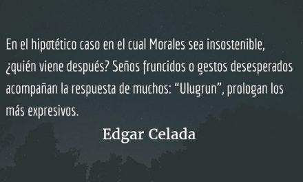 El día después de Jimmy Morales. Edgar Celada Q.