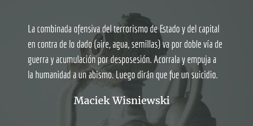 Tres despachos sobre el gas. Maciek Wisniewski.