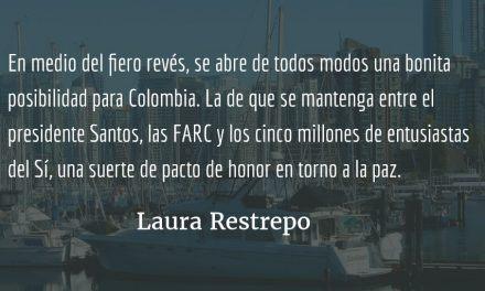 El día después del No. Laura Restrepo.