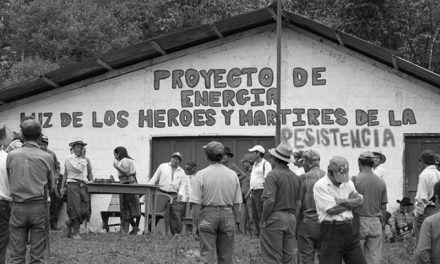 El camino de la luz: la lucha comunitaria por la electricidad. Lucía Escobar.