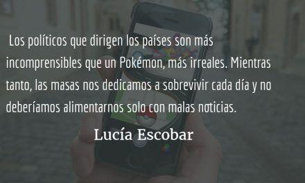 De Pokémones. Lucía Escobar.