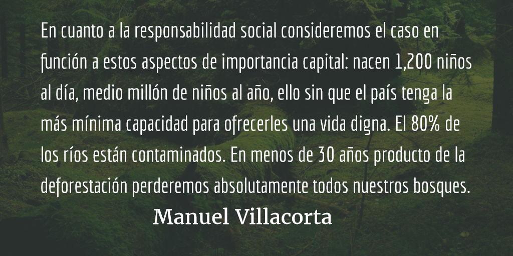 El guatemalteco ¿un ser irresponsable? Manuel Villacorta