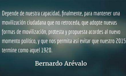 Lo que nos une y nos separa de 1920 y 1944. Bernardo Arévalo.