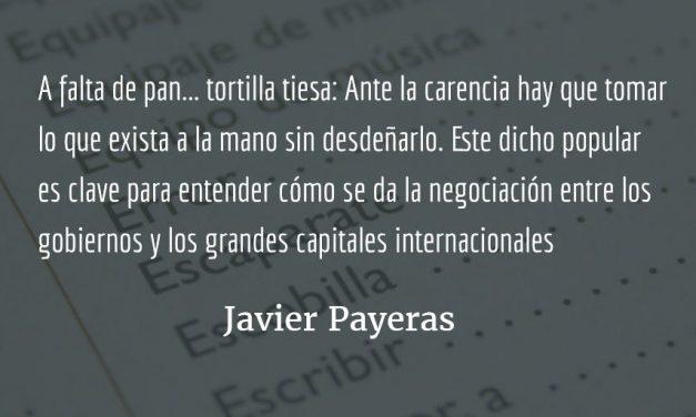 Pequeño diccionario chapín no ilustrado. Javier Payeras.