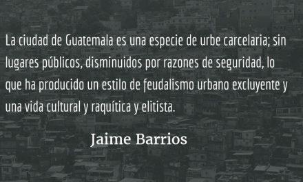 La capirucha. Jaime Barrios.