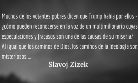 El peligro de la pseudoactividad. Slavoj Zizek.