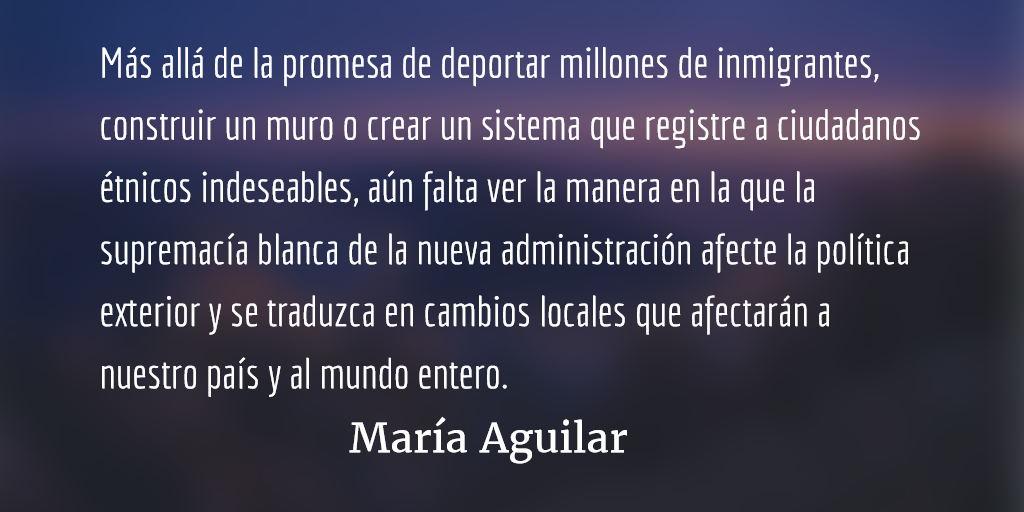 La victoria de las opresiones y los miedos. María Aguilar.
