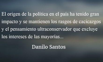 Tres al patíbulo. Danilo Santos.
