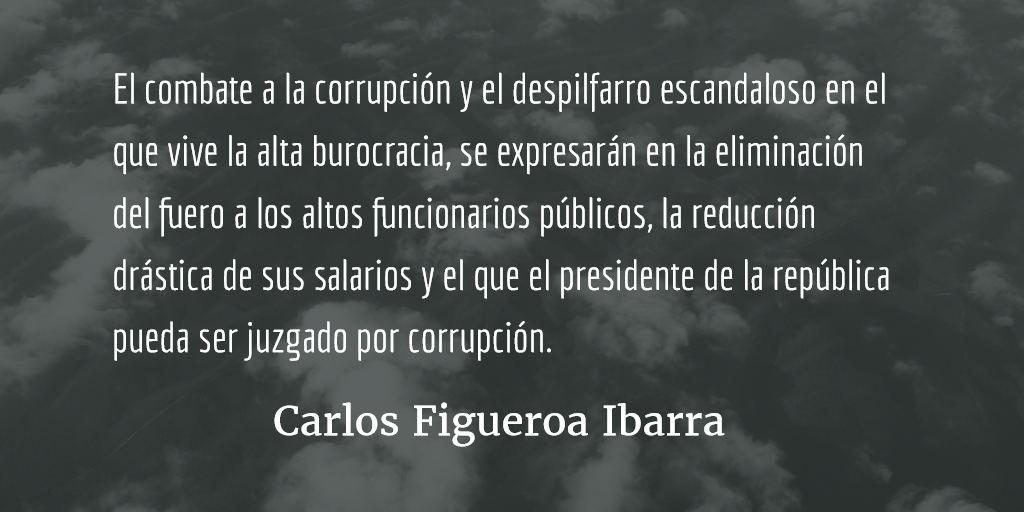 México, 50 pasos para salvarlo. Carlos Figueroa Ibarra.