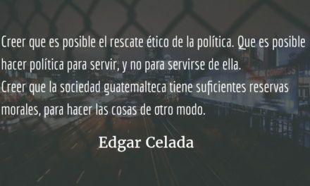 Para sembrar futuro. Edgar Celada Q.
