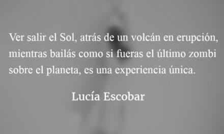 Bailar. Lucía Escobar.