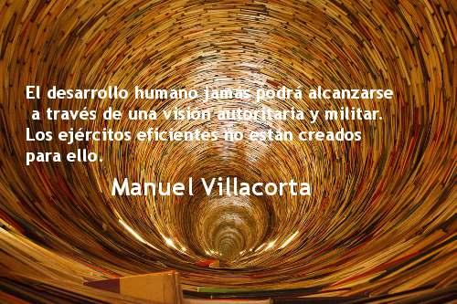 La militarización no es la solución. Manuel Villacorta.