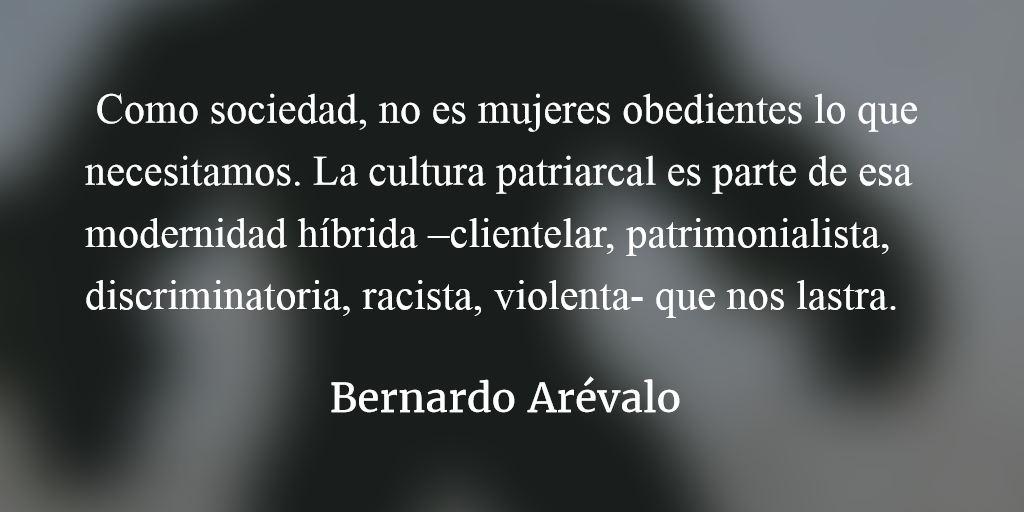 Encomio de la mujer desobediente. Bernardo Arévalo.