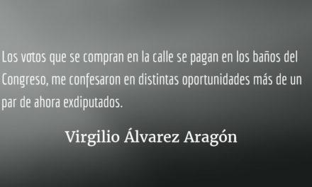 El cándido Chinchilla y sus 80 angelitos. Virgilio Álvarez Aragón.