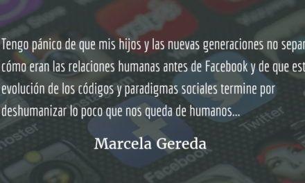 Facebook: el algoritmo creador de burbujas. Marcela Gereda.