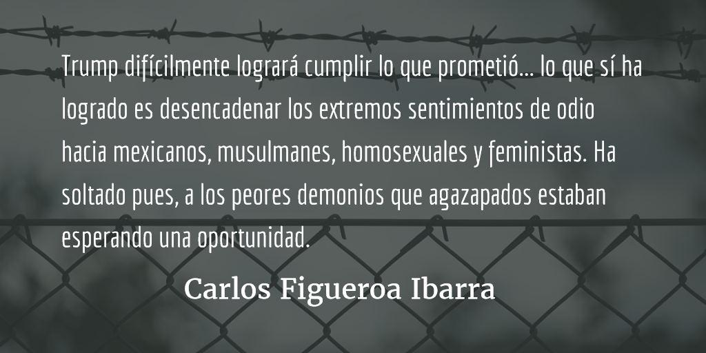 Trump, aberración neoliberal. Carlos Figueroa Ibarra.