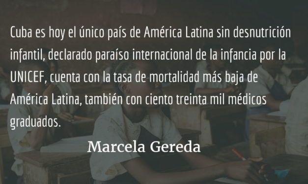 La resistencia de los cubanos. Marcela Gereda.