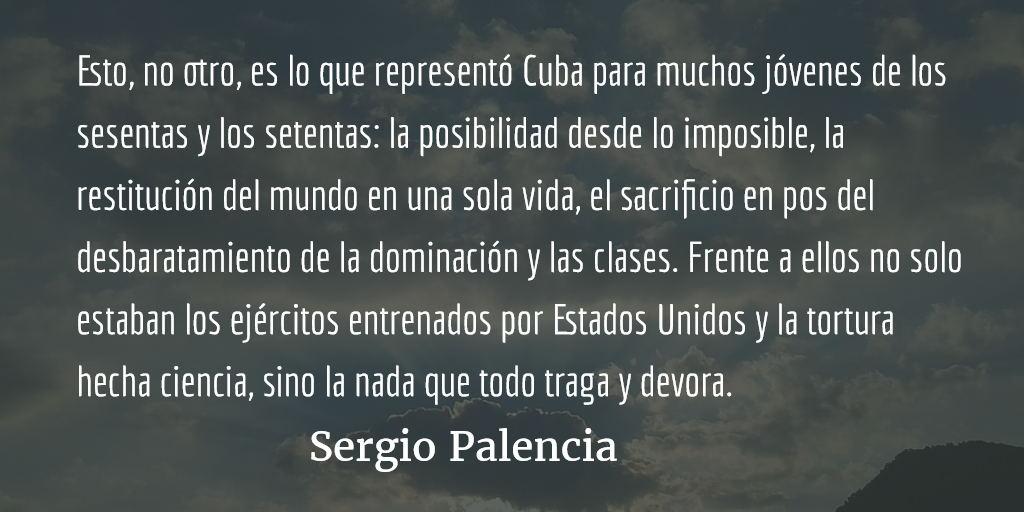 La clase anónima-revolucionaria latinoamericana y Fidel Castro. Sergio Palencia.
