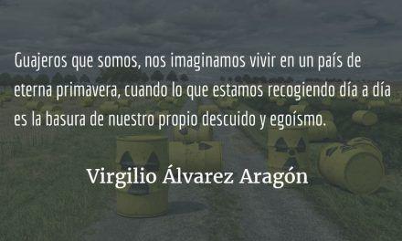 La sociedad de los guajeros ciegos. Virgilio Álvarez Aragón.