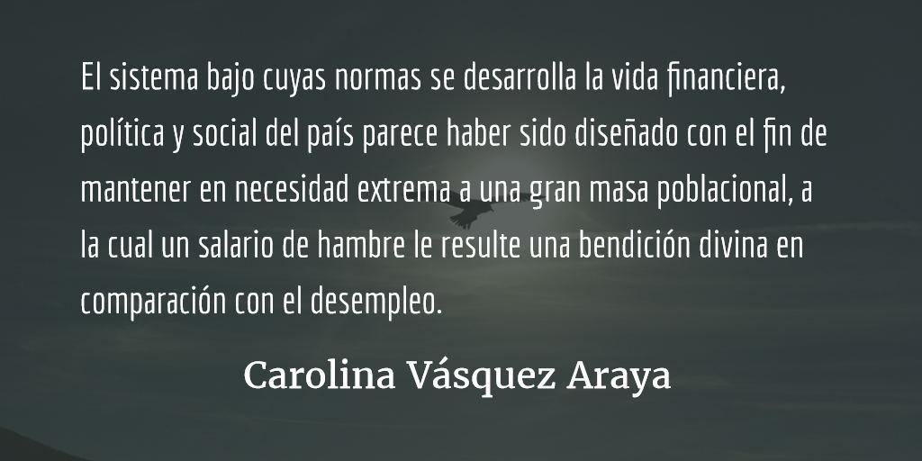 Del fuego a las brasas. Carolina Vásquez Araya.