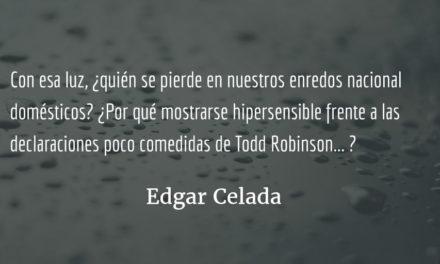 Tan lejos de Dios y tan cerca de EE. UU. Edgar Celada Q.